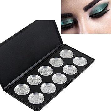 RNTOP 10/28 Piece Pans Empty Eye Shadow Eyeshadow Firm Palette Case Makeup Tool