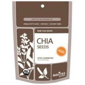 Navitas Naturals Organic Raw Chia Seeds, 16 Ounce - 6 per case.