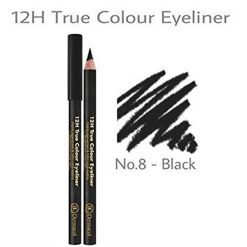 Dermacol 12H True Color Eyeliner 416 NO.8 - BLACK