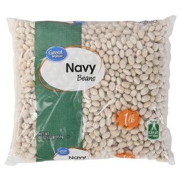 Great Value Navy Beans, 16 oz (3 Packs)