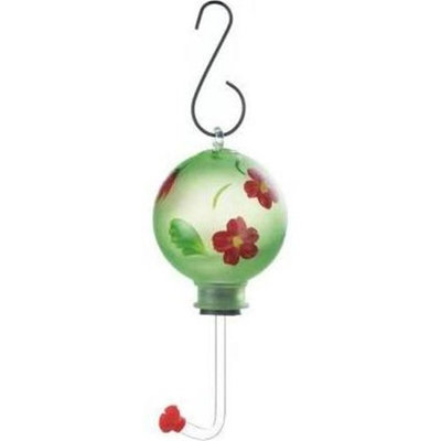 Songbird Valley 10018063 Green Glass Hummingbird Feeder