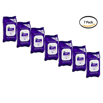 Pack of 7 - YES TO BLUEBERRIES CLEANSING FACIAL WIPES 25CT