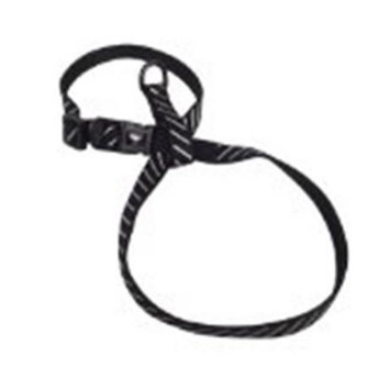 Hamilton Pet Adjustable Nylon Figure 8 Cat & Puppy Harness Small Black CHEA RF SMBK