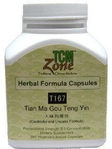 Tian Ma Gou Teng Yin 100 vegcap by TCMzone