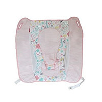 Fisher Price Rock N Play Sleeper Replacement Pad (DTG91 Pink Flowers PAD)