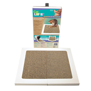 Cat Life Cat n'Scratch - Scratching Litter Pad