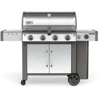 Weber Genesis II LX S-440 4-Burner Propane Gas Grill in Stainless