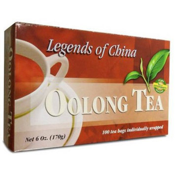 Legends Of China Oolong Tea, 100 Bags by Uncle Lees Teas