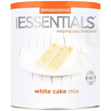 Emergency Essentials Food White Cake Mix Large Can 65 oz