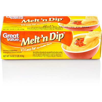 Great Value Easy Melt Cheese, 16 oz