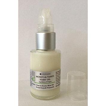 Monoi de Tahiti Oil-100% Natural-1 ounce Glass Bottle w/Pump