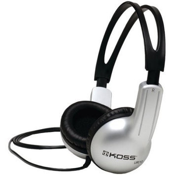 Koss UR10 On-Ear Headphones - Stereo - Mini-phone - Wired - 32 Ohm - 60 Hz 20 kHz - Over-the-head - Binaural - Circumaural - 4 ft Cable