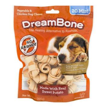 Petmatrix Dreambone Sweet Potato Mini, 20-Pack