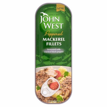 John West Peppered Mackerel Fillets (110g) - Pack of 6