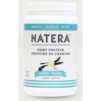 Best Hemp Protein Powder Vanilla (2 lbs) | NATERA Vegan Plant Based Protein Supplement Fast Muscle Recovery