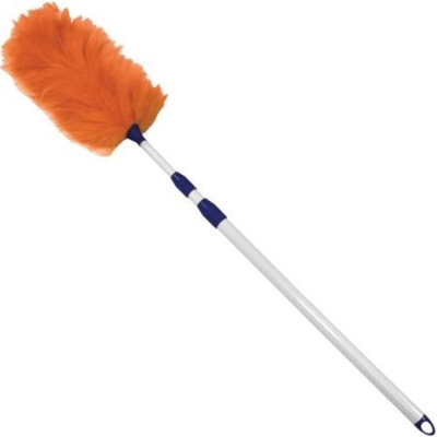 Impact Products Adjustable Lambswool Duster, White, Assorted, 1 Each (Quantity)