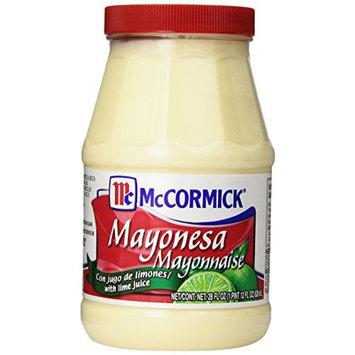 McCormick Mayonesa (Mayonnaise With Lime Juice), 28 fl oz