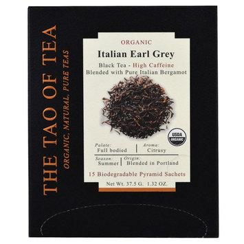 The Tao of Tea, Organic Italian Earl Grey, 15 Pyramid Sachets, 1.32 oz (37.5 g) [Flavor : Italian Earl Grey]