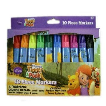 DDI 1456101 Disney Winnie The Pooh 10Pk Mini Colored Marker