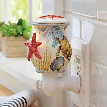 Better Homes and Gardens Ceramic Sea Life Accent Wax Warmer