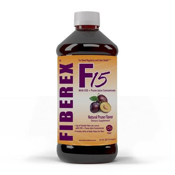 Llorens Pharmaceutical Fiberex Laxation Liquid Fiber, 16 oz Bottle, 12/CS