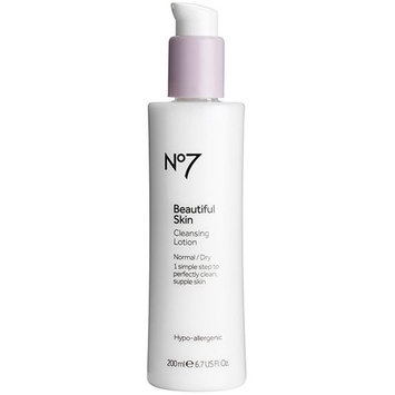 Boots No7 Beautiful Skin Cleansing Lotion - Normal / Dry 6.7 oz