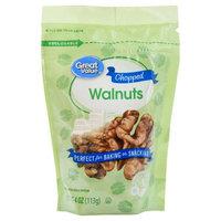 Great Value Chopped Walnuts, 4 oz