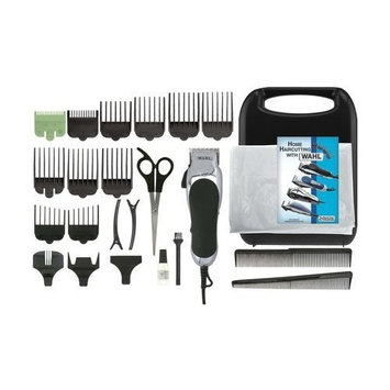 Wahl Clipper Chrome Pro Hair Clipper, Haircut Kit for Men Total Body Grooming 24 pc, Gift for men/dads/husbands/boyfriends, by the Brand used by Professionals #79524-2501