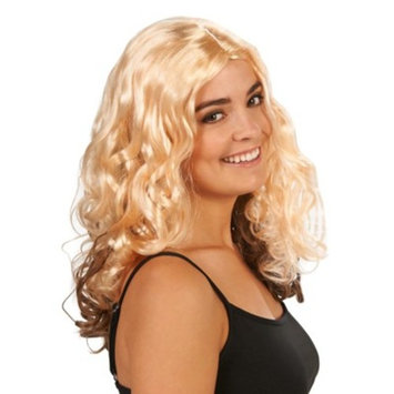 Blonde Curly Women's Costume Wig