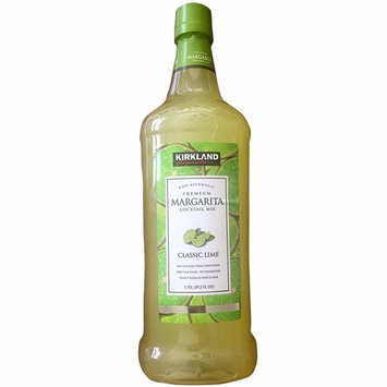 Kirkland Signature Premium Margarita Cocktail Mix - Non-Alcoholic - CLASSIC LIME / 1.75l., 59.2 Fl. Oz.