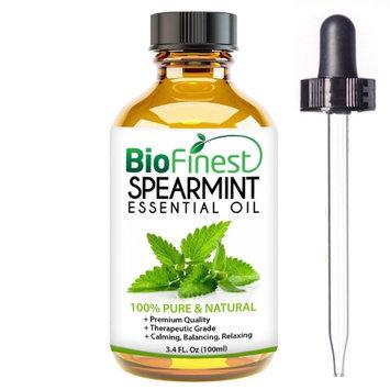 Biofinest Spearmint Essential Oil - 100% Pure Therapeutic Grade (100ml)