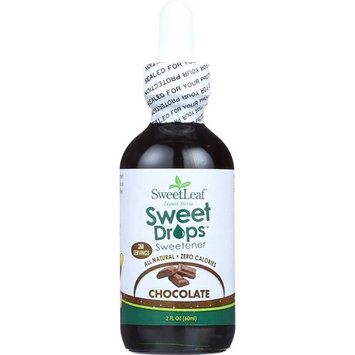 Sweet Leaf Stevia Liquid Chocolate 2 Oz (Pack Of 3)