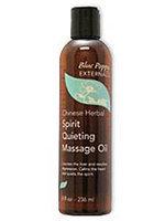Spirit Quieting Massage Oil 8 oz by Blue Poppy
