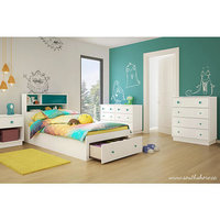 South Shore Little Monsters 4-Drawer Chest - Pure White