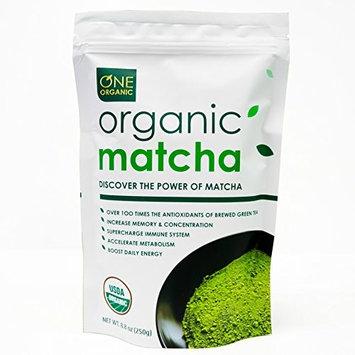 ONE ORGANIC Matcha Green Tea Powder (250g) - USDA Certified Organic (Summer Special Savings)