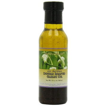 Jansal Valley Double Roasted Garlic Oil, 12 Fl Oz