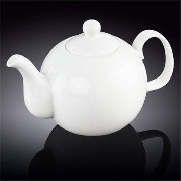 Wilmax 994046 1750 ml Tea Pot White - Pack of 12