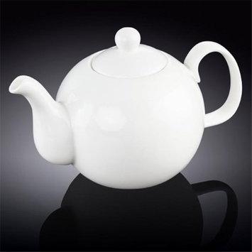 Wilmax 994046 1750 ml Tea Pot White - Pack of 12