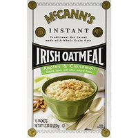 McCanns Instant Irish Oatmeal Apple Cinnamon, 10 ct, 3 pk by McCann's