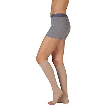 Juzo 4411ADSH10 I Basic Knee Open Toe Short - Black