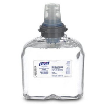 Purell Advanced Hand Sanitizer 1200 mL Alcohol (Ethyl) Foaming Dispenser Refill Bottle CS/2 PK/6