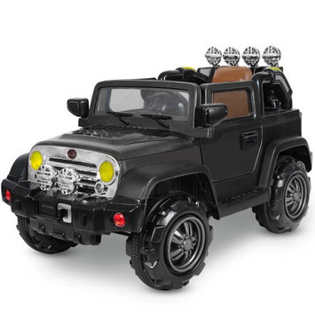 Merax 12V Ride On Car Truck W/Remote Control, Spring Shock Absorbers, Adjustable Speed