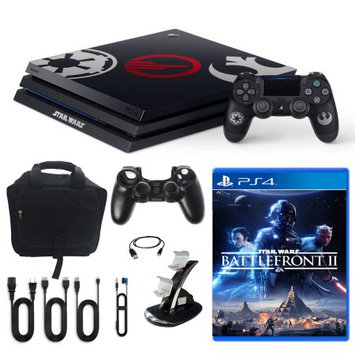 Sony PlayStation 4 Pro Limited Edition Star Wars Battlefront 2 1TB Console and Accessories