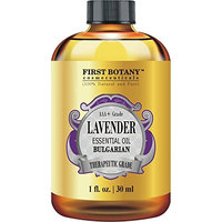 Bulgarian Lavender Essential Oil 1 fl oz, 100% Pure, Independently Tested, Therapeutic Grade Lavender Oil for Diffuser, Aromatherapy, skincare and hair