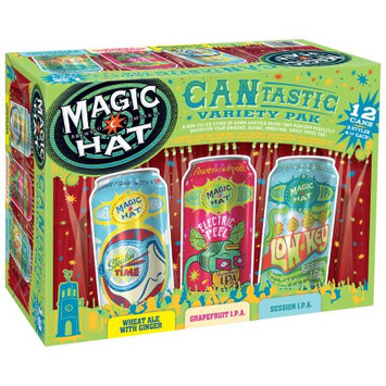 Magic Hat Brewing Company® Cantastic Beer Variety Pack 12-12 fl. oz. Cans