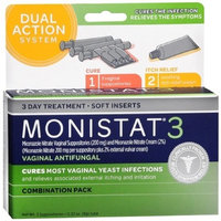 Monistat 3 Triple Action Combination Pack with Ovule Inserts