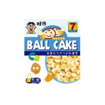 WANT WANT Ball Cake Cookie Milk Flavor