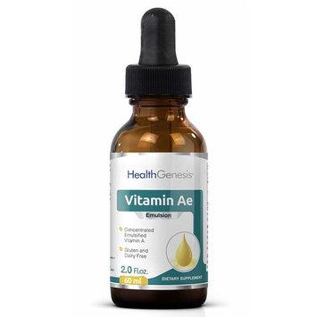 Liquid Vitamin Ae Emulsion 12,500 IU Per Drop 2 oz - Vitamin A E Drops | Anti-Aging | Immune System Support | Energy | Promotes Health | Antioxidant