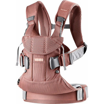 BABYBJÖRN New Baby Carrier One Air 2019 Edition, Mesh, Vintage Rose [Mesh]