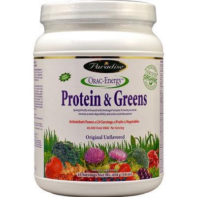 Paradise Herbs Orac Energy Protein Greens - 16 oz - HSG-165316